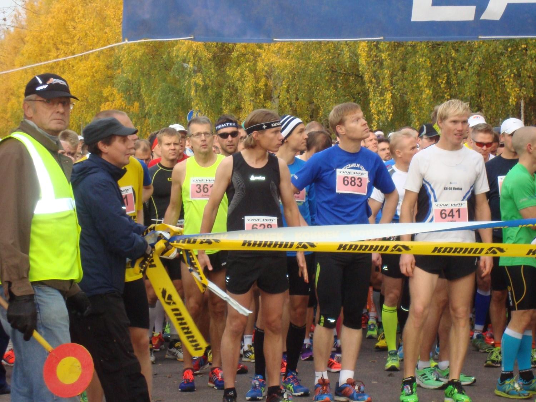 Vantaan maratonin lähtö